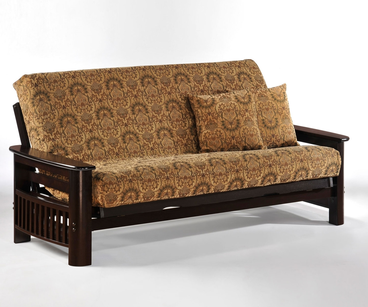 Bon Portofino Futon Sofa Chocolate   Night And Day Furniture   ND Portofino CHO