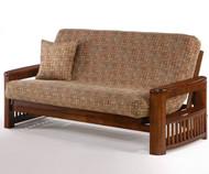 Shadow Futon Sofa Black Walnut   Night and Day Furniture   ND-Shadow-BW