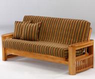 Shadow Futon Sofa Medium Oak   Night and Day Furniture   ND-Shadow-MO
