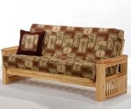 Shadow Futon Sofa Natural   Night and Day Furniture   ND-Shadow-NA