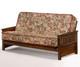 Sunrise Futon Sofa Black Walnut   Night and Day Furniture   ND-Sunrise-BW