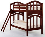 School House Jordan Bunk Bed Cherry | NE Kids | NE-4010BUNK
