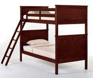 School House Casey Bunk Bed Cherry | NE Kids | NE-4020BUNK
