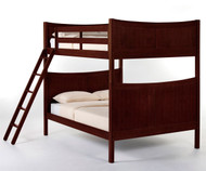 School House Taylor Full over Full Bunk Bed Cherry | NE Kids | NE-4035BUNK