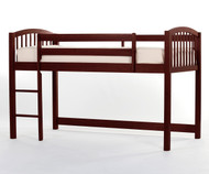 School House Junior Low Loft Bed Cherry   NE Kids   NE-4060