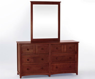 School House 6 Drawer Dresser Cherry | NE Kids Furniture | NE-4500