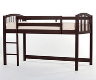 School House Junior Low Loft Bed Chocolate | NE Kids | NE-5060