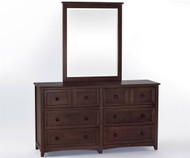 School House 6 Drawer Dresser Chocolate | NE Kids Furniture | NE-5500