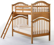 School House Jordan Bunk Bed Pecan | NE Kids | NE-6010BUNK