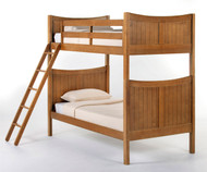 School House Taylor Bunk Bed Pecan | NE Kids | NE-6030BUNK