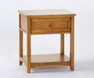 School House Nightstand Pecan | NE Kids Furniture | NE-6530