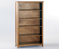 School House Tall Bookcase Pecan | NE Kids Furniture | NE-6560