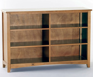 School House Wide Bookcase Pecan | NE Kids Furniture | NE-6568