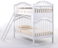 School House Jordan Bunk Bed White | NE Kids | NE-7010BUNK