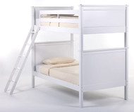 School House Casey Bunk Bed White | NE Kids | NE-7020BUNK
