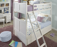 School House Taylor Bunk Bed White | NE Kids | NE-7030BUNK