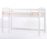School House Junior Low Loft Bed White | NE Kids | NE-7060