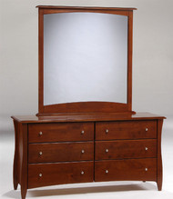 Timber Creek Double Dresser Cherry | Night & Day Furniture | NE-CLOVE-DD-CR