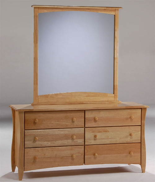 Timber Creek Double Dresser Natural | Night U0026 Day Furniture | NE CLOVE DD