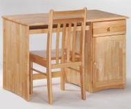 Timber Creek Desk Natural | Night & Day Furniture | NE-CLOVE-DK-N