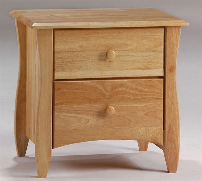 Timber Creek Nightstand Natural   Night U0026 Day Furniture   NE CLOVE NS