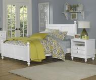 Lakehouse Kennedy Full Bed White   NE Kids   NE1025