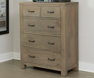 CLEARANCE Highlands 5 Drawer Chest Driftwood |  | NE10520-SD