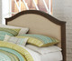 Everglades Bailey Upholstered Bed Full Size with Trundle Espresso | 26987 | NE11015X