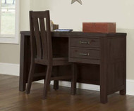 Everglades Student Desk Espresso | NE Kids Furniture | NE11540