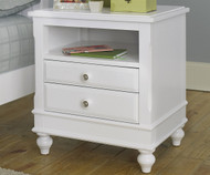 Lakehouse Nightstand White | NE Kids Furniture | NE1530