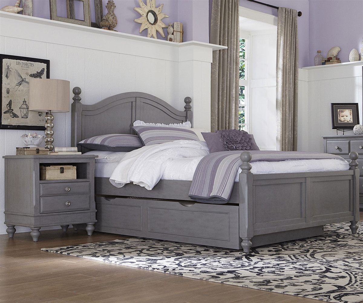 2015 and 2570 payton full bed stone finish with trundle lakehouse collection ne kids furniture Badcock home furniture more pompano beach fl