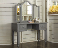 Lakehouse Vanity Desk Stone | NE Kids Furniture | NE2540-2560