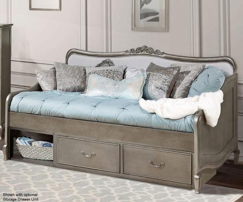 Kensington Elizabeth Daybed Antique Silver | NE Kids Furniture | NE30040
