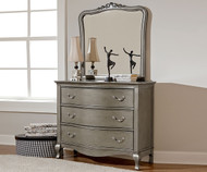Kensington 3 Drawer Dresser Antique Silver | NE Kids Furniture | NE30505