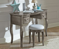 Kensington Writing Desk Antique Silver | NE Kids Furniture | NE30540