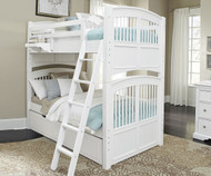 Walnut Street Hayden Bunk Bed White | NE Kids | NE8051