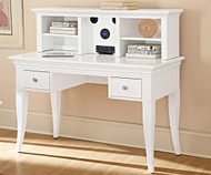 Walnut Street Writing Desk White | NE Kids Furniture | NE8540