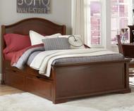 Walnut Street Morgan Full Panel Bed with Trundle Chestnut | NE Kids | NE9015-9560
