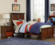 Walnut Street Devon Twin Panel Bed Chestnut | NE Kids | NE9020