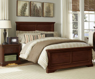 Walnut Street Devon Full Panel Bed Chestnut | NE Kids | NE9025