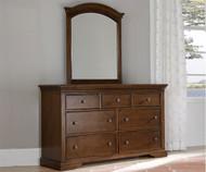Walnut Street 7 Drawer Dresser Chestnut   NE Kids Furniture   NE9500