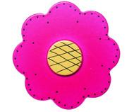 Magenta Lolli Flower Drawer Pull | One World | OW-DP47556