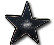 Distressed Black Star Drawer Pull | One World | OW-DP581