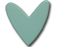 Aqua Heart Drawer Pull | One World | OW-DP591