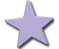 Pastel Purple Star Drawer Pull | One World | OW-DP616