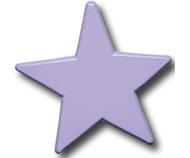 Pastel Purple Star Drawer Pull | One World | OW-DP616