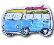 Maui Wowie Surf Van Drawer Pull | One World | OW-DP636