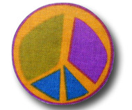 Drawer Pull Purple Peace 2 | One World | OW-DP702