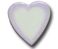 Purple Water Color Heart Drawer Pull | One World | OW-Heart-PWC