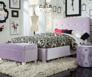 Young Parisian Upholstered Bed Full Size Lavender | Standard Furniture | ST-6516365164